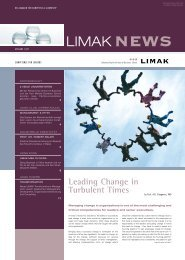 Leading Change in Turbulent Times - Limak