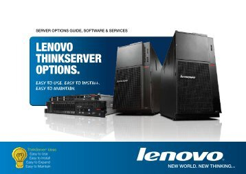 Server Options Guide - Lenovo | US