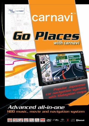 Introducing A True Car Navigation System Unlike Any - Navi & Map