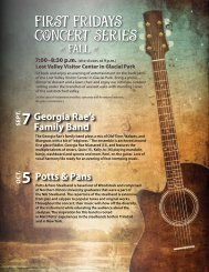 First Fridays ConCert series - McHenry County Conservation District