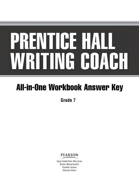 All In One Workbook Answer Key CALA6