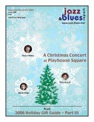 #November 288-WEB2 - the Jazz & Blues Report