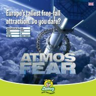 Europe's tallest free-fall attraction. Do you dare? - Liseberg