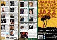39 - Waiheke Island International Jazz Festival