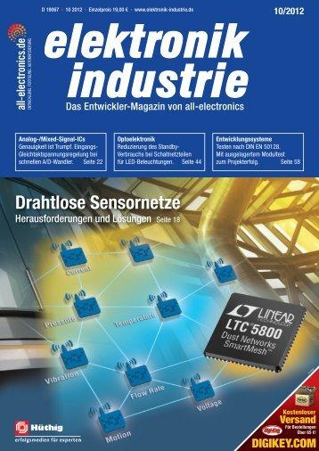 PDF-Ausgabe herunterladen (32.7 MB) - elektronik industrie