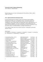 Cortinarien-Funde in Baden-Württemberg Achim Bollmann, 70499 ...