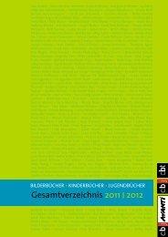 Gesamtverzeichnis 2011 I 2012 - Verlagsgruppe Random House ...