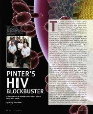 PINTER'S - New Jersey Medical School