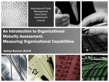 An Introduction to Organizational Maturity Assessment - IPAC