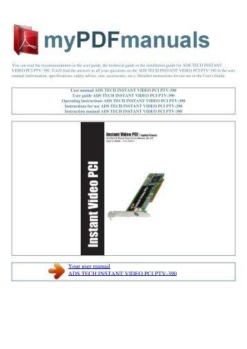 ADS Tech USB Instant DVD Linux