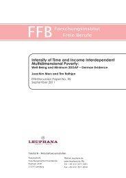 Forschungsinstitut Freie Berufe (FFB) - Deutsche Gesellschaft für ...