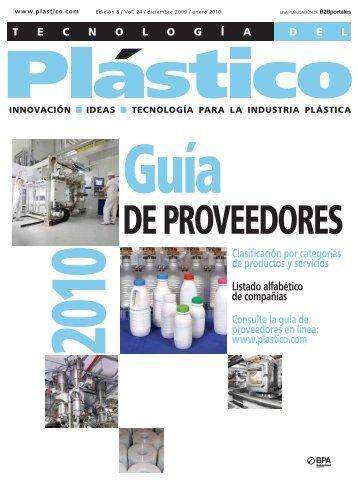 DE PROVEEDORES - Plastico
