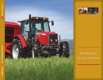 MF 5400 Series Brochure - Massey Ferguson