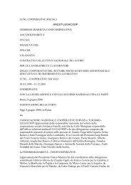 ccnl cooperative sociali ancst-legacoop ... - Codess Sociale