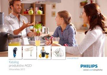 Katalog produktów AGD - Philips