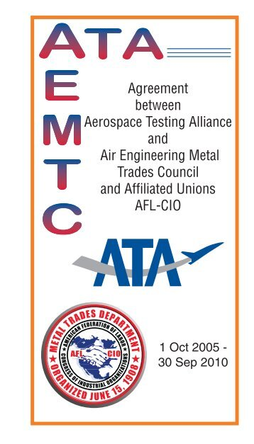 Agreement between Aerospace Testing Alliance and Air ...