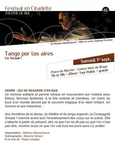 Programme (PDF) - Chantiers Théâtre de Blaye et de l'Estuaire
