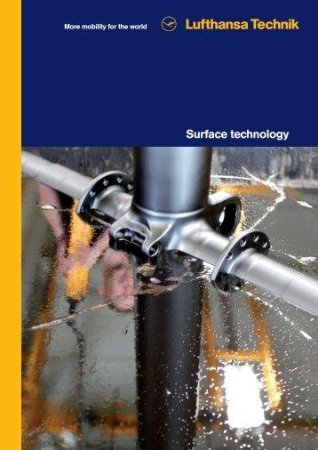 Brochure Surface Technology - Lufthansa Technik