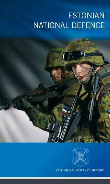ESTONIAN NATIONAL DEFENCE