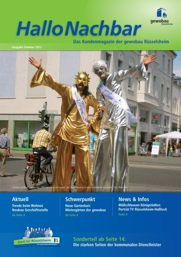newsletter juli 09.qxd - Stadtwerke Rüsselsheim