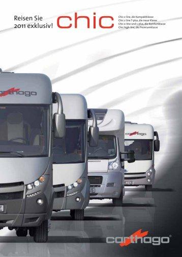 Reisen Sie 2011 exklusiv! - Carthago Reisemobilbau GmbH