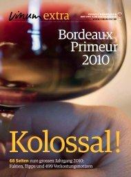 Bordeaux Primeur 2010