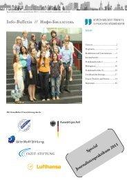 Journalistenpraktikum 2011 (PDF) - Deutsch-Russisches Forum eV