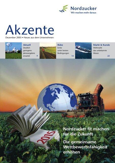 Akzente 11_05.indd - Nordzucker AG