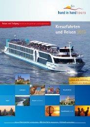 zum Katalog 2013 - hand in hand tours