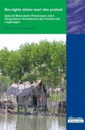 BIORIGHTS - Wetlands International Indonesia Programme