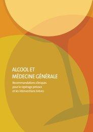 Alcool et médecine générale - Recommandations cliniques ... - Inpes