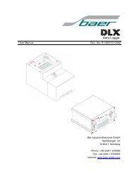 DLX / DLX19 - baer-gmbh.com