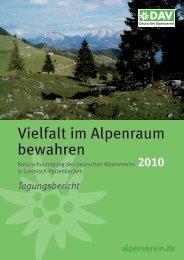 Vielfalt im Alpenraum bewahren - Deutscher Alpenverein