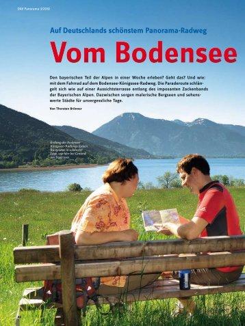Auf Deutschlands schönstem Panorama-Radweg - Thorsten Brönner