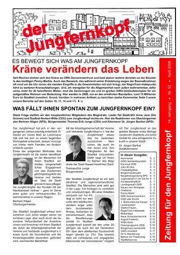 ES BEWEGT SICH WAS AM JUNGFERNKOPF ... - Jungfernkopf.info