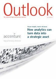 How analytics can turn data into a strategic asset