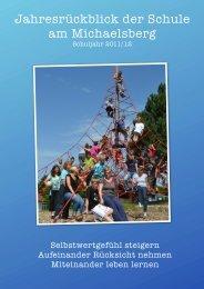 Jahresrückblick der Schule am Michaelsberg - Stift Sunnisheim