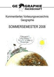 sommersemester 2008 - Geographisches Institut Uni Heidelberg ...