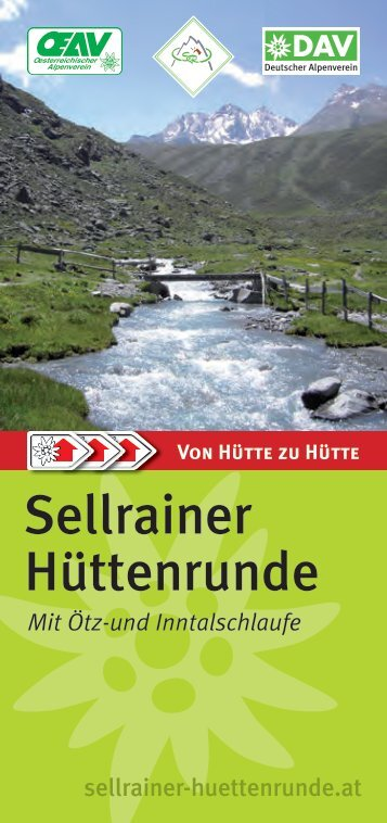 Sellrainer Hüttenrunde - Deutscher Alpenverein