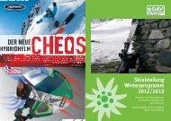 Skiabteilung Winterprogramm 2012/2013 - Alpenverein Augsburg