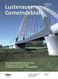 Lustenauer Gemeindeblatt - Gemeinde Sulz