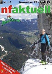 Winterprogramm 2012/2013 - Naturfreunde Laakirchen