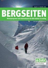 Klettern und Eis - bis die Erde bebte - Alpenverein Sektion Zorneding