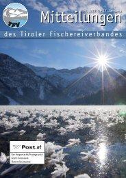 Mitteilungen 02/10 [PDF 6,5 MB] - Tiroler Fischereiverband