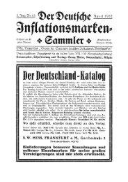 Heft 13 - INFLA-Berlin, Verein der Deutschlandsammler eV