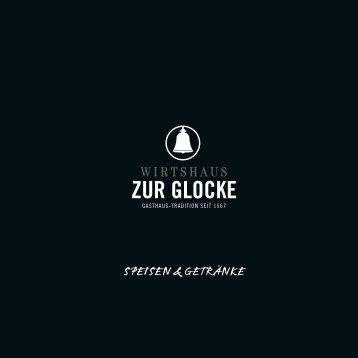 SPEISEn & GEtränkE - Zur Glocke