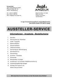 Informationen - Angebote - Bestellscheine - Jagd und Angeln 2009