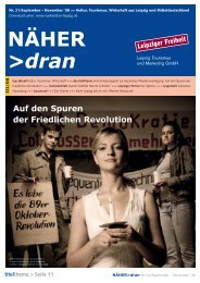 Download: NÄHER dran, Nr. 21/ September - Leipzig Tourismus ...