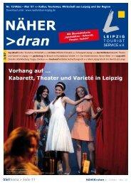Download: NÄHER dran, Nr. 15 / März 2007 - Leipzig Tourismus ...