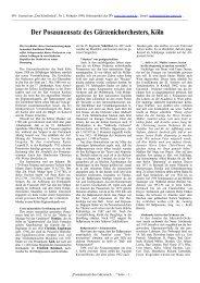 Der Posaunensatz des Gürzenichorchesters Köln, Karlheinz Weber